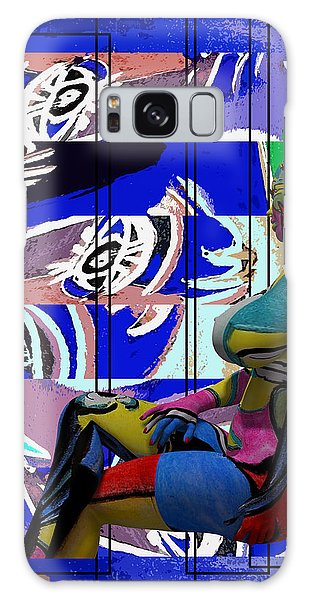 Her Abstract Journey Galaxy Case