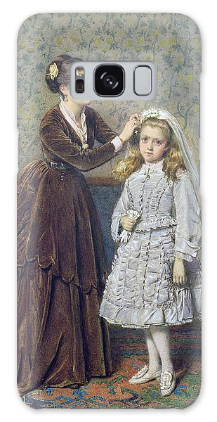 Wall Paper Galaxy Case - Her First Communion by George Goodwin Kilburne