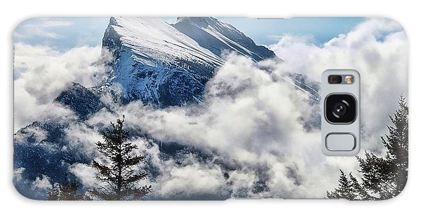 Her Majesty - Canada's Mount Rundle Galaxy Case