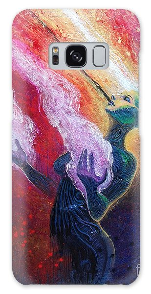 Her Power Is Within Galaxy Case