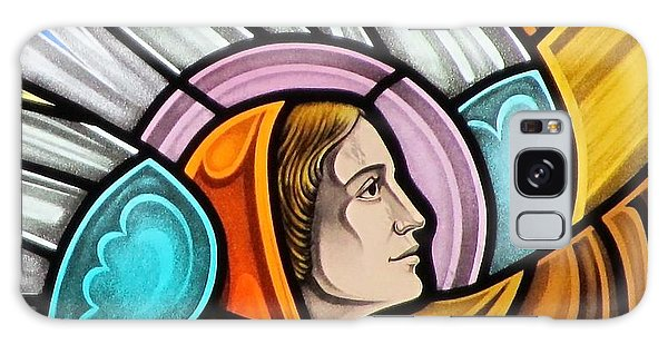 Heralding Angel Galaxy Case by Gilroy Stained Glass