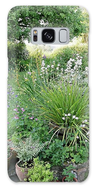 Flowerbed Galaxy Case - Herbaceous Border In June by Stephen Harley-sloman/science Photo Library