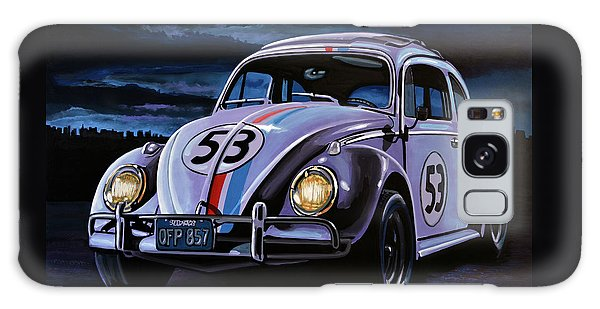 Herbie The Love Bug Painting Galaxy Case