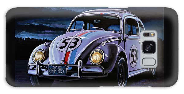 Beetle Galaxy S8 Case - Herbie The Love Bug Painting by Paul Meijering