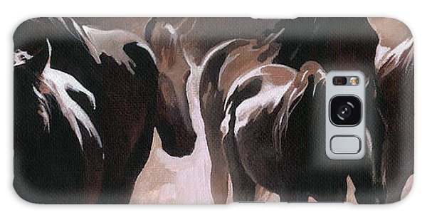 Herd Of Horses Galaxy Case