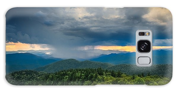 Galaxy Case featuring the photograph Here Comes The Rain by Joye Ardyn Durham