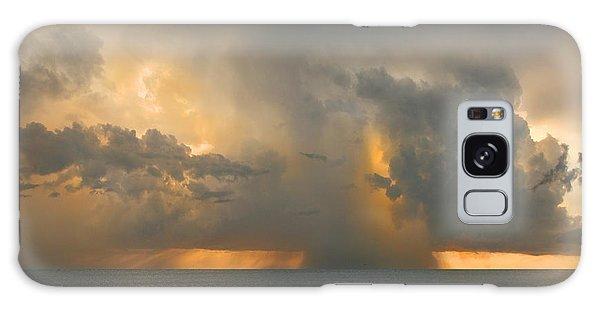 Here Comes The Rain. Galaxy Case by Mariarosa Rockefeller