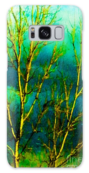Here Comes The Sun Galaxy Case by Gayle Price Thomas