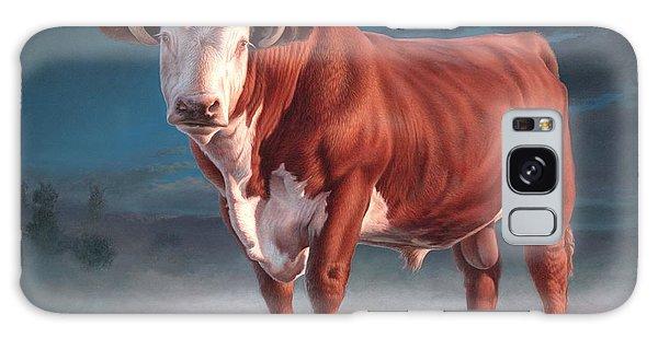 Hereford Bull Galaxy Case