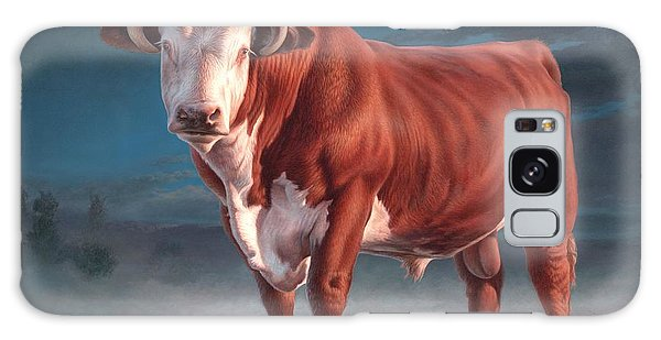 Hereford Bull Galaxy Case by Hans Droog