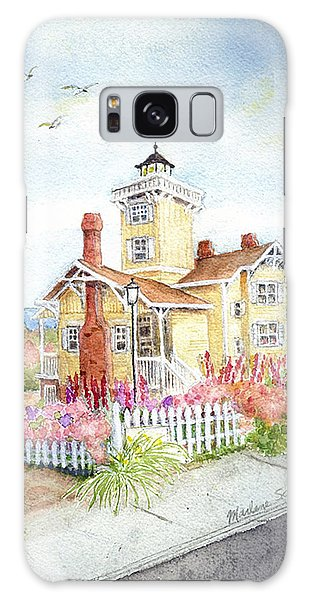 Hereford Inlet Lighthouse Galaxy Case