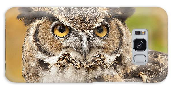 Here's Looking At You Galaxy Case by Carol Lynn Coronios