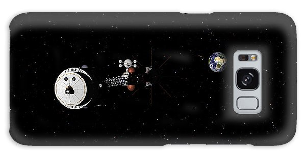Hermes1 Leaving Earth Part 2 Galaxy Case by David Robinson