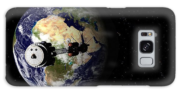 Hermes1 Leaving Earth Part 1 Galaxy Case by David Robinson