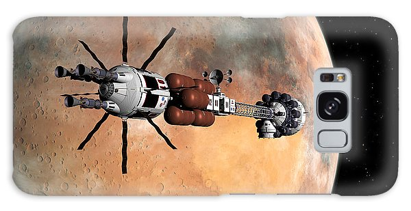 Hermes1 Mars Insertion Part 1 Galaxy Case by David Robinson
