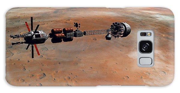 Hermes1 Orbiting Mars Galaxy Case by David Robinson