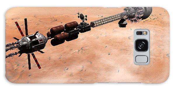 Hermes1 Over Mars Galaxy Case by David Robinson