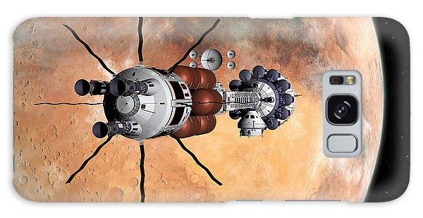 Hermes1 Realign Orbital Path Galaxy Case by David Robinson