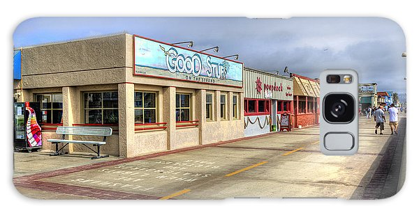 Hermosa Beach Boardwalk Galaxy Case