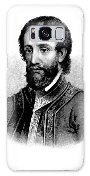 Hernando De Soto, Spanish Conquistador Galaxy Case by British Library