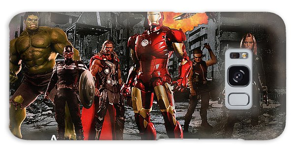The Avengers Galaxy Case - Heroes 3 by Christian Colman