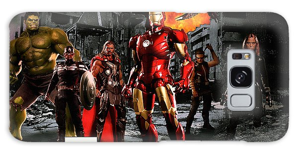 The Avengers Galaxy Case - Heroes by Christian Colman