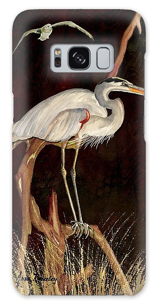 Heron In Tree Galaxy Case