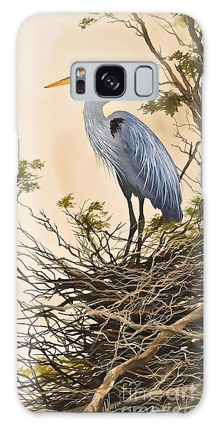 Herons Galaxy Case - Herons Secluded Home by James Williamson