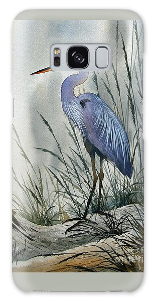 Herons Galaxy Case - Herons Sheltered Retreat by James Williamson