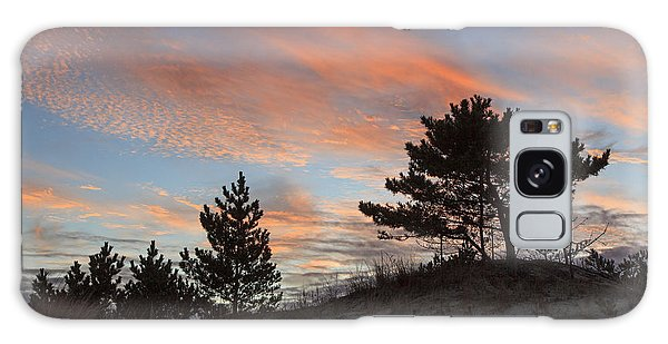 Herring Point Sunset Galaxy Case by Robert Pilkington