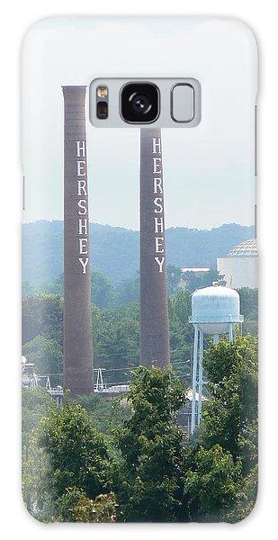 Hershey Smoke Stacks Galaxy Case by Michael Porchik