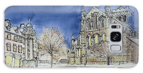 Hexham Abbey England Galaxy Case