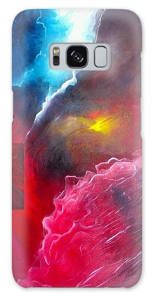 HEY Galaxy Case by Carrie Maurer