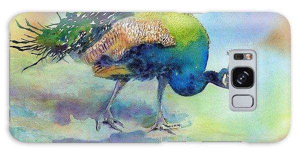 Peacock Galaxy S8 Case - Hey Good Lookin by Amy Kirkpatrick