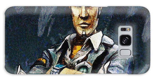 Hey Vault Hunter Handsome Jack Here Galaxy Case by Joe Misrasi
