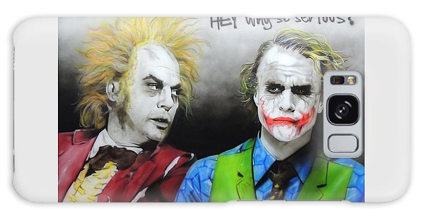 Hey, Why So Serious? Galaxy Case