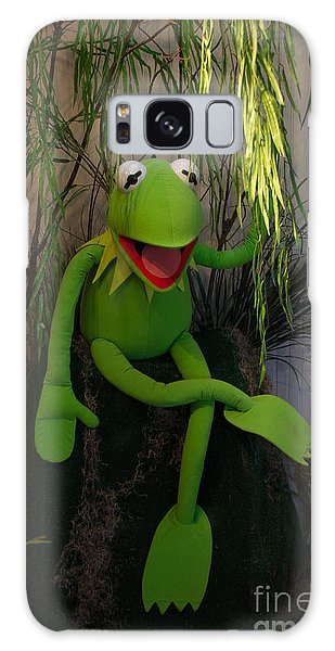 Hi Ho  Kermit The Frog Here  Galaxy Case