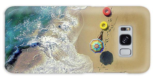Parasol Galaxy Case - Hi Summer! by Ambra