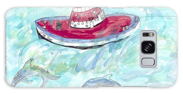 Hi Tide Galaxy Case by Helen Holden-Gladsky