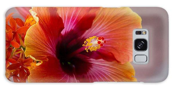 Hibiscus 3 Galaxy Case by Sally Simon