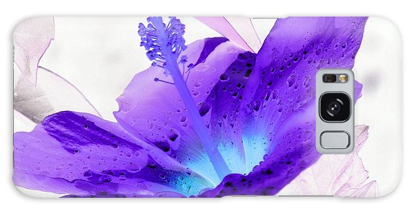 Hibiscus - After The Rain - Photopower 754 Galaxy Case