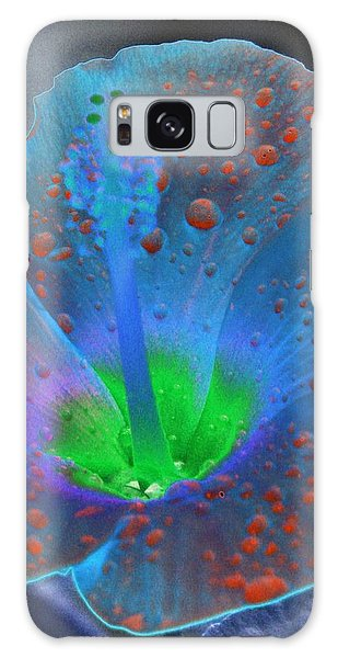 Hibiscus - After The Rain - Photopower 775 Galaxy Case