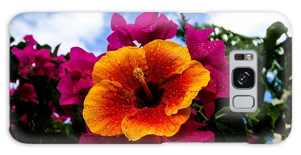 Hibiscus Beauty Galaxy Case