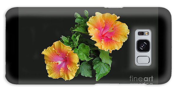 Hibiscus Duo Galaxy Case