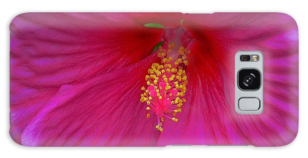 Hibiscus Galaxy Case by Erica Hanel