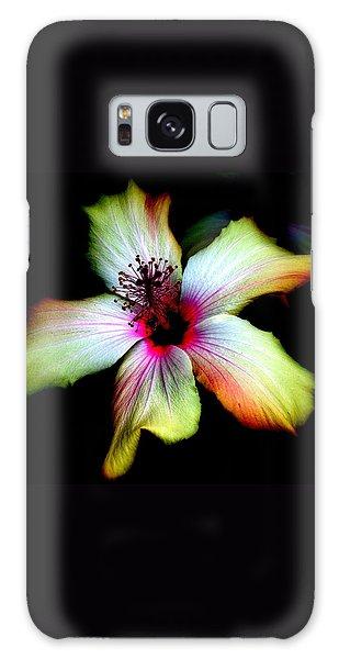 Hibiscus Galaxy Case by Jodie Marie Anne Richardson Traugott          aka jm-ART