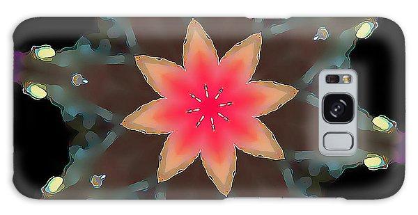 Hibiscus Mandala Galaxy Case