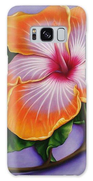 Hibiscus Galaxy Case by Paula Ludovino