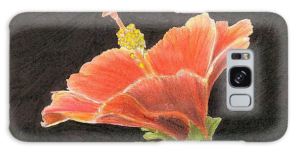 Hibiscus Galaxy Case by Ruth Seal