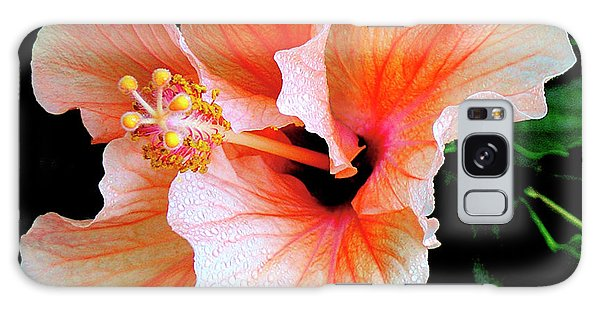 Hibiscus Spectacular Galaxy Case